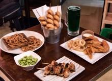 Ikkon Oyama kushiyaki food
