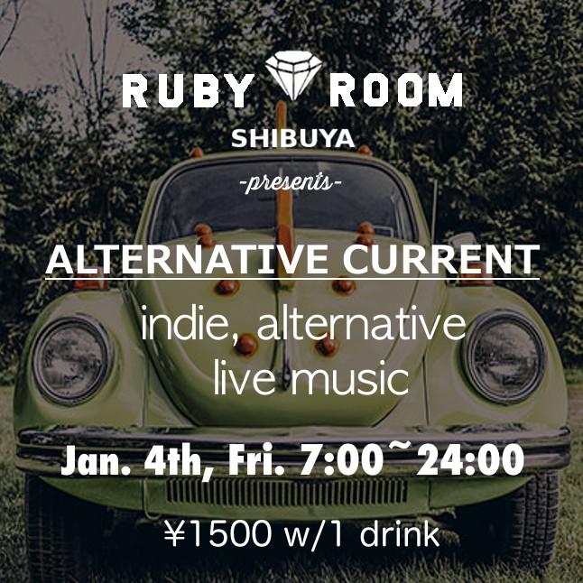 Alternative Current Indie Alternative Live Music Takumi's Party, Icon Girl Pistols, Heaven Phetamine, and MOJA