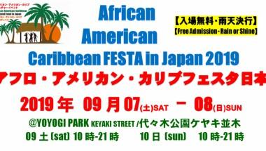 Afro American Caribbean Festa 2019