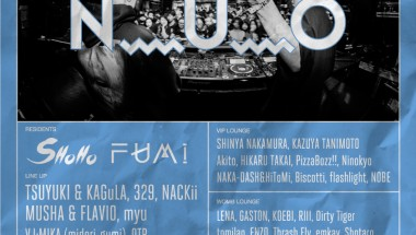 N_U_O presents DJ SHOHO and FUMI