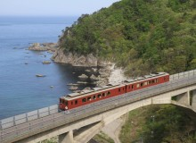 Travel in Iwate Prefecture Train Japan Sanriku Railway Back on Track