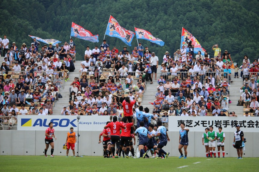 Rugby Travel in Iwate Prefecture Train Japan Sanriku Railway Back on Track
