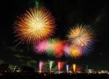 Adachi Fireworks Festival Summer Tokyo Hanabi