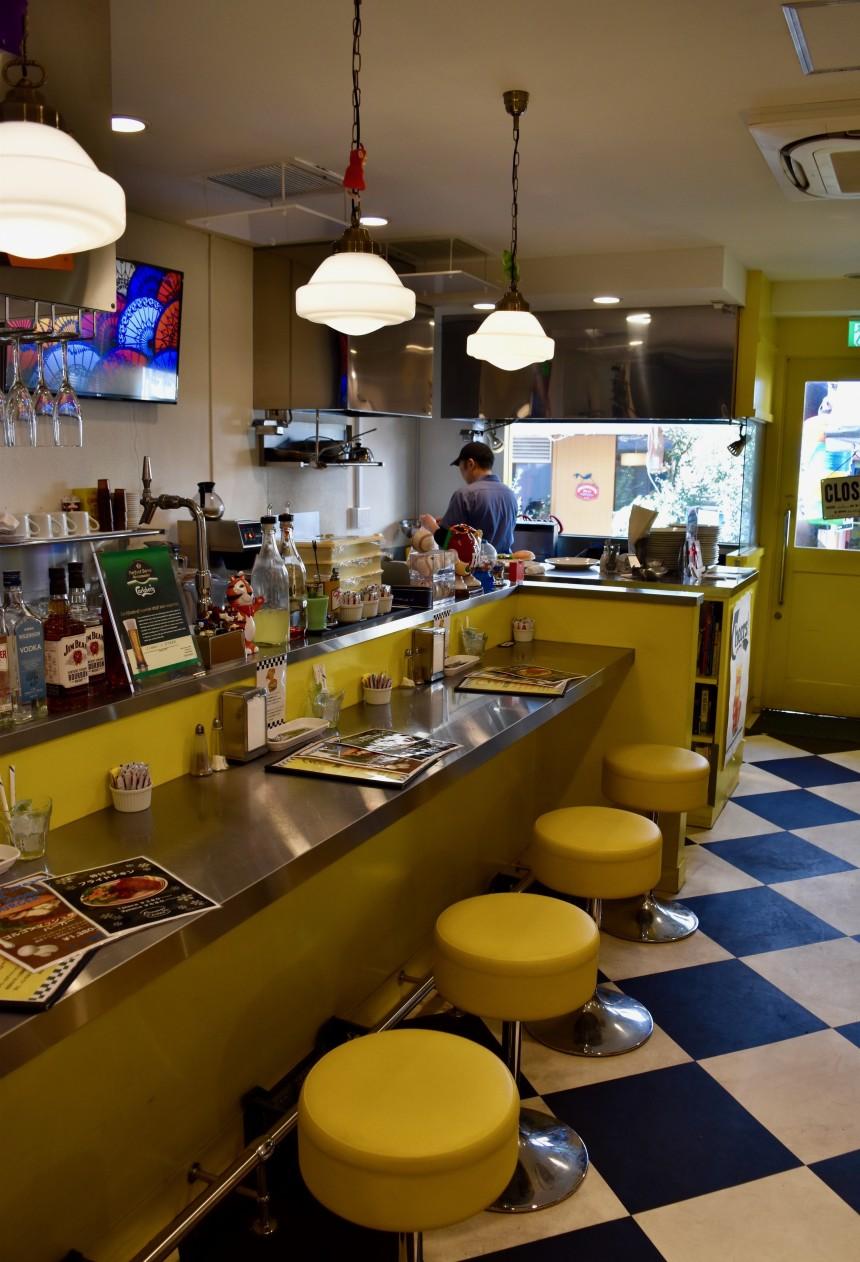 Kokubunji Jimmy's Diner Hamburger Shop