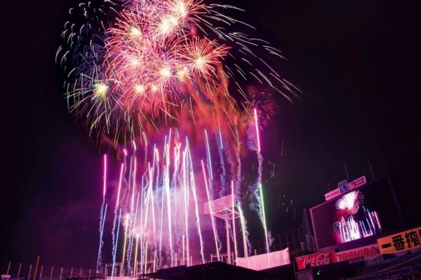 Meiji Jingu Gaien Firework Festival