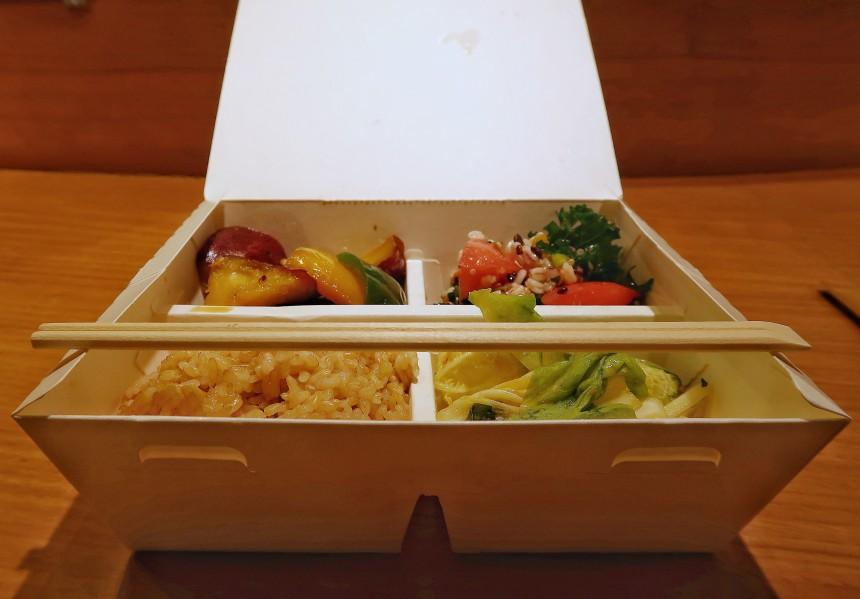 vegan bento hanami essentials aikta kumar vegetarian picnic lunchbox sakura viewing Pariya