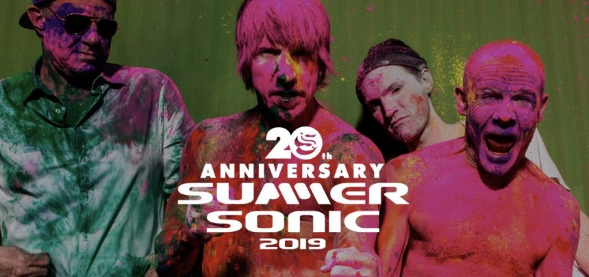 JAPAN! Red Hot Chili Peppers are performing at SummerSonic in Osaka on August 16 and in Tokyo on August 17!