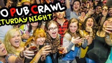 Saturday Pub Crawl + Free Club Entry