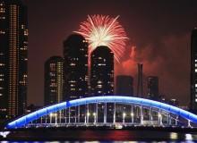 Sumidagawa Fireworks Festival Summer Tokyo Hanabi