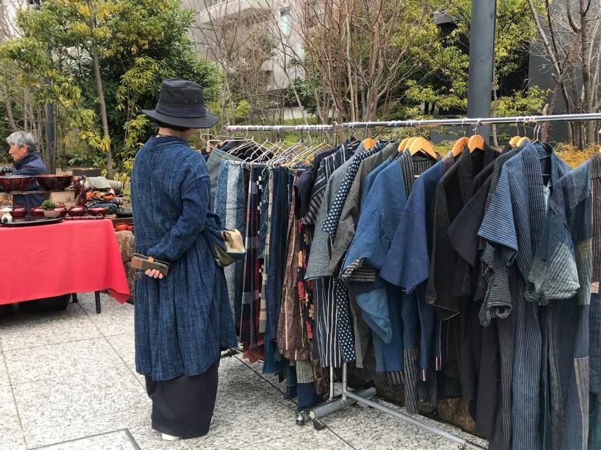 Tokyo Romantic Market flea market
