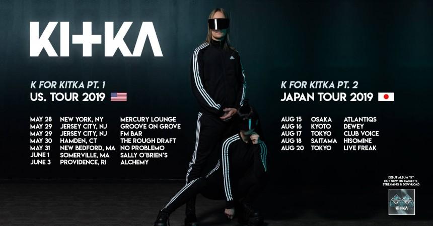 kitka album release Japan tour