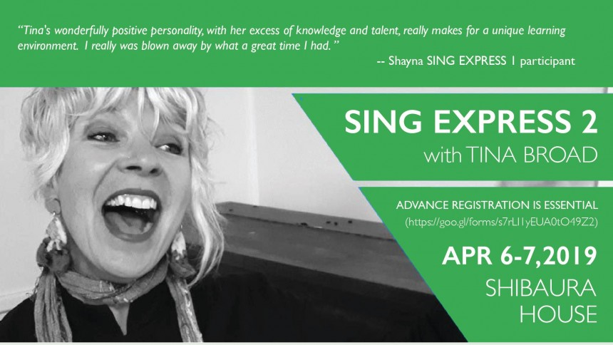 sing express tina broad