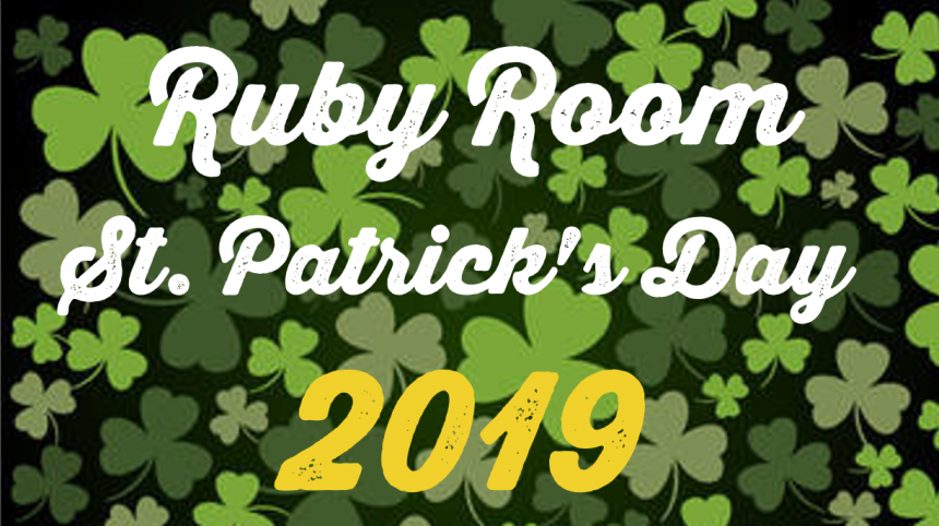 Ruby Room St. Patrick's Day 2019 Emerald Isle Live music performance