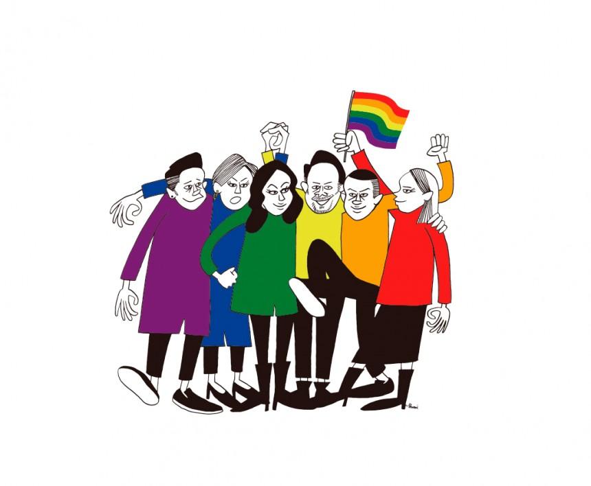 Tokyo Rainbow Pride LGBTQ Yoyogi Park Shibuya Harajuku Parade