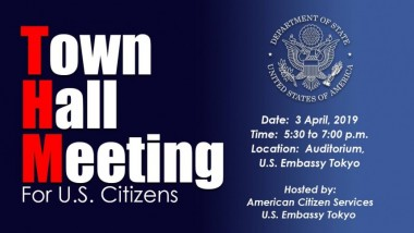 town hall American citizens meeting