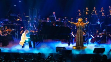 Yoshiki and Sarah Brightman