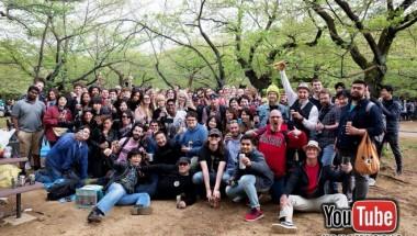 YouTube Tokyo Hanami 2019