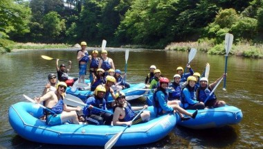 Golden Week Rafting