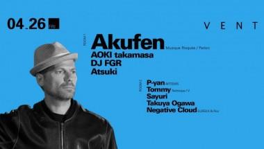 Akufen live set at Vent