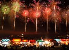 hanabi fireworks tokyo festival summer