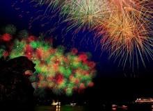 Kumano Fireworks Festival Summer Tokyo Hanabi