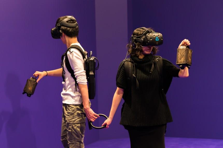 tyffonium virtual reality magic reality corridor fluctus odaiba shibuya technology tokyo metropolis japan