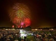 Tachikawa Kinen Park Fireworks Festival Summer Tokyo Hanabi