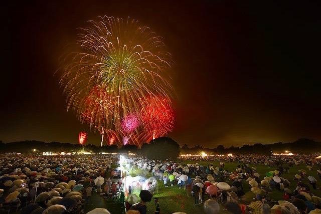 Tachikawa Kinen Park Fireworks Festival