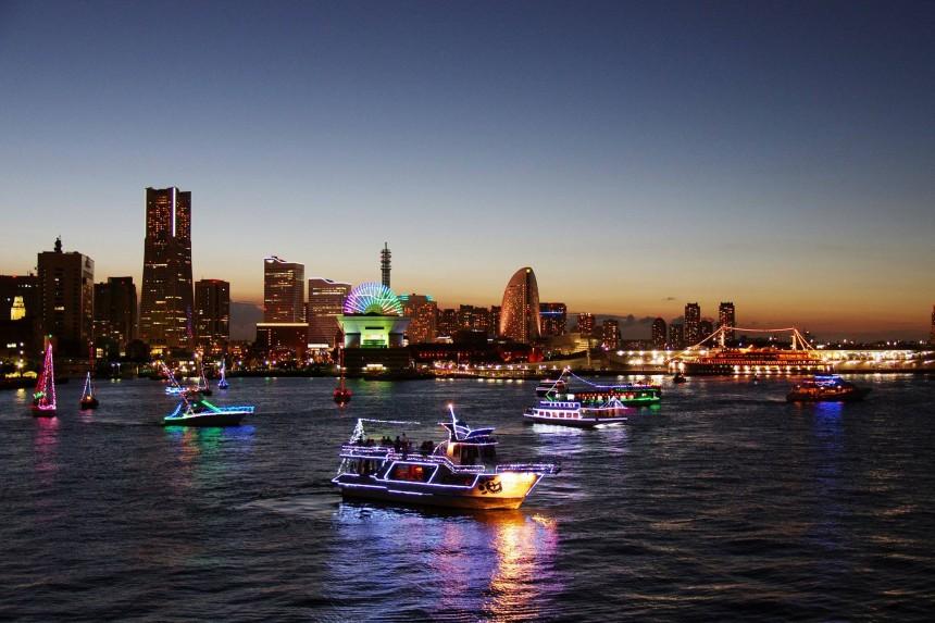 Yokohama Sparkling Twilight fireworks hanabi summer events