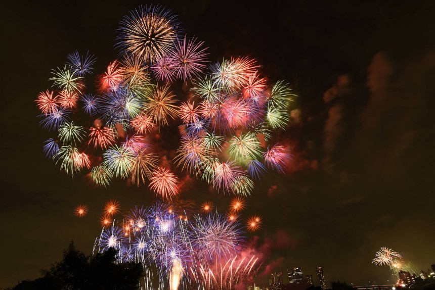 Tamagawa Fireworks Festival fireworks hanabi events summer