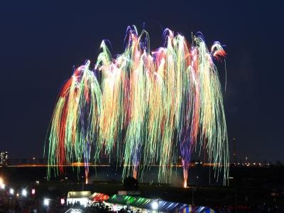 Katsushika Noryo Fireworks FestivalX hanabiX fireworksX SummerX Katsushika