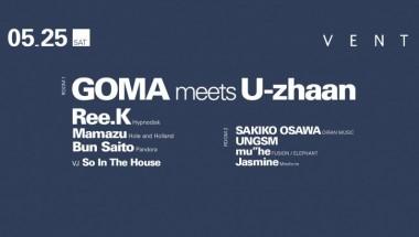 Goma meets U-zhaan