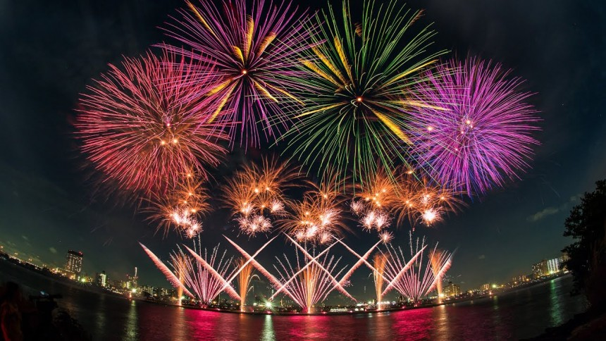 fireworks, Hanabi, Summer, Adachi Fireworks Festival