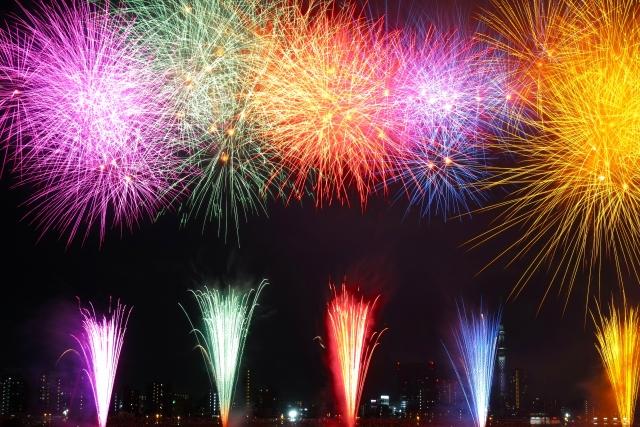 X fireworksX summerX hanabiX Edogawa Fireworks FestivalX Eodogawa