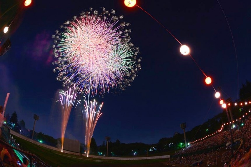 Hachioji Fireworks Festival fireworks hanabi summer events