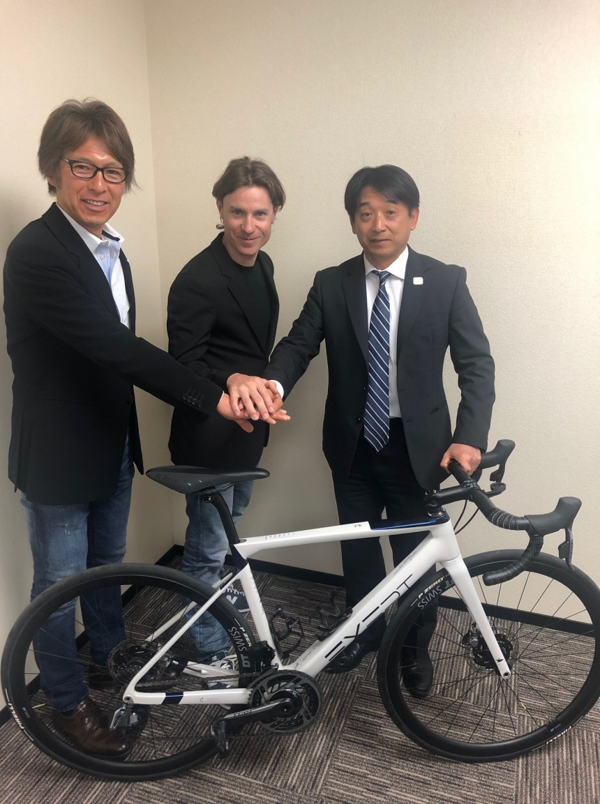 Damiano Cunego cyclism Tokyo Olympic Games sport in person metropolis japan