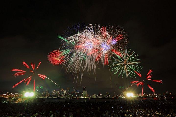 Naniwa Yodogawa Fireworks Festival Osaka Hanabi Events