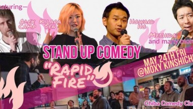 RAPID FIRE COMEDY @ The Moxy