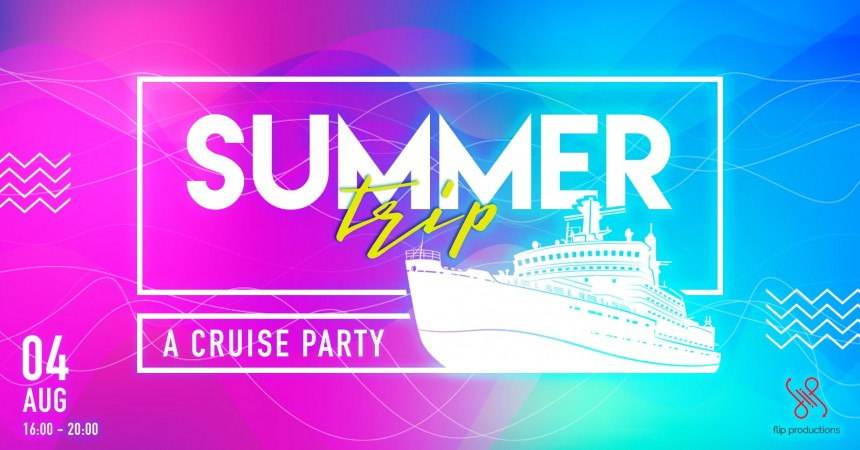 Summer Trip a Cruise party Takeshiba Small Boat Port party cruise summer Events
