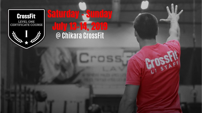 CrossFit Level 1 Seminar Chikara Crossfit Events