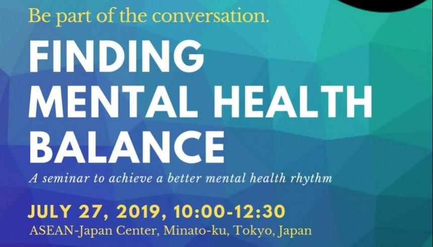 Finding Mental Health Balance Association Filipino Students in Japan mental health seminar events