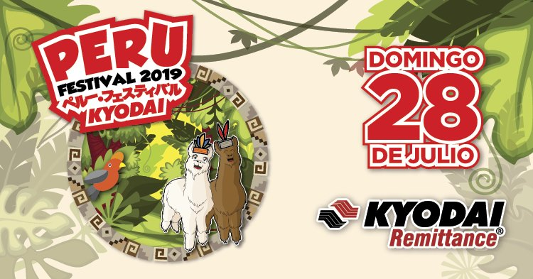 Peru Festival 2019 Kyodai Group events