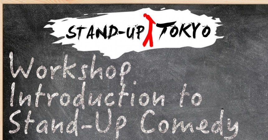 stand-up comedy BJ Fox Titans Craft Beer Taproom Tokyo workshop Events