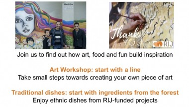 World Refugee Day Art for Hope Workshop