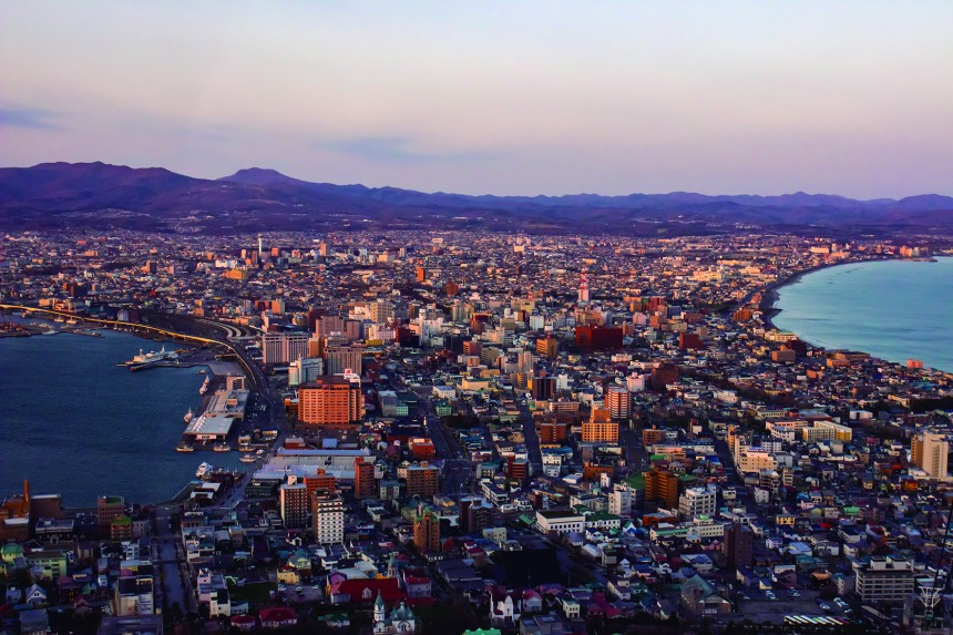 hakodate travel weekend european influence architecture hokkaido adventure japan