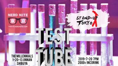 Nerd Nite x Stand Up Tokyo: Test Tube