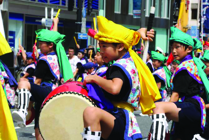 July Community news & events recommends Shinjuku Eisa Festival Okinawa matsuri performing arts