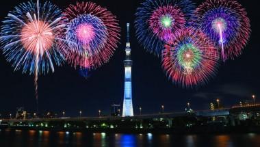 Sumida River Fireworks 2019