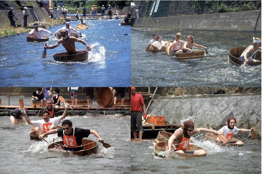 Washtub Race Festival Snorkel onsen travel events