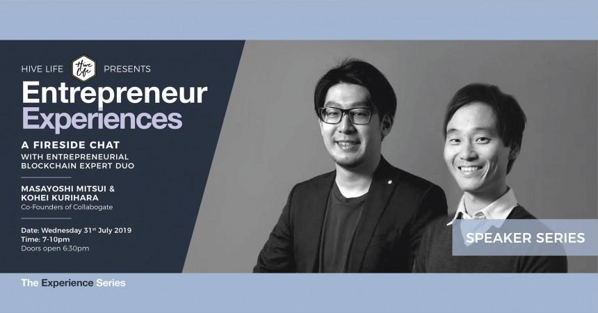 Entrepreneur Experiences Masayoshi Mitsui Kohei Kurihara tech events